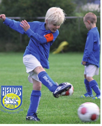 Voetbalclinic SV Helios 1