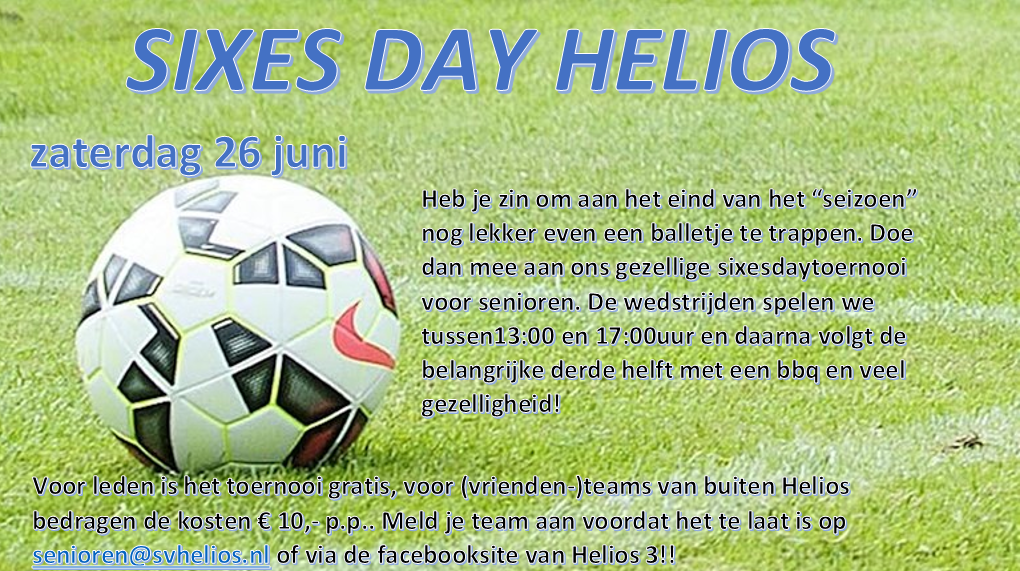 Sixes Day Helios